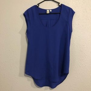 Small 14th & Union Blue Sleeveless Blouse